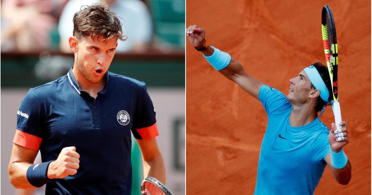 Thiem needs to accomplish mission impossible against 10-time champion Nadal in French Open final