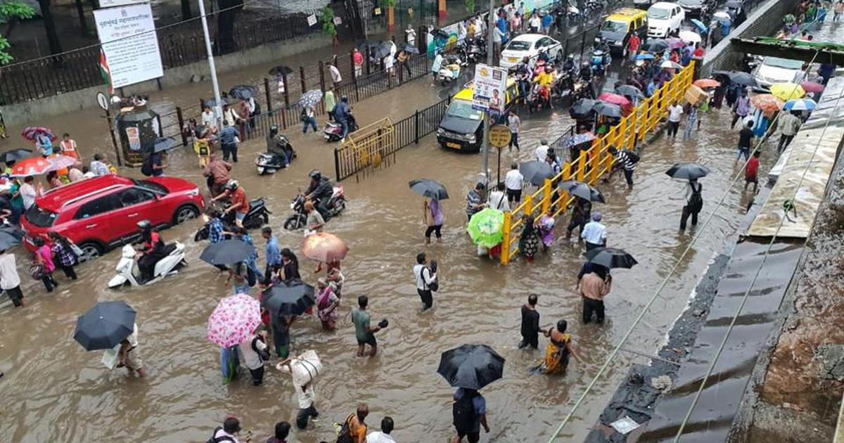 At least four dead in rain-related incidents in Mumbai, heavy rain predicted over the next 48 hours