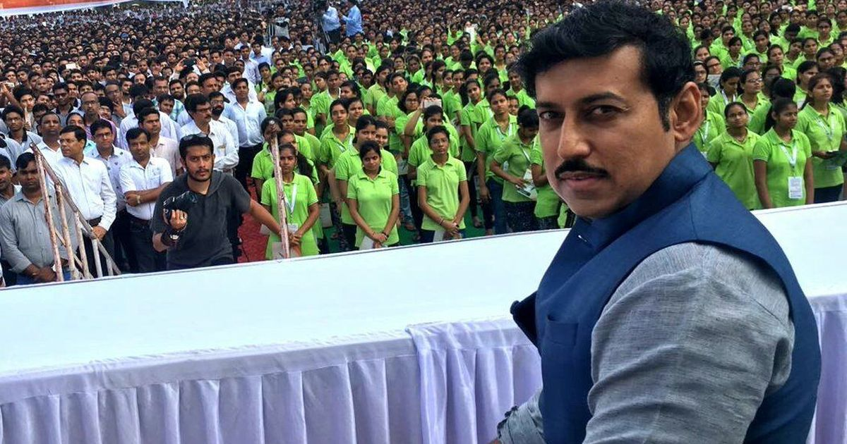 India has potential to play in Fifa World Cup soon, says Sports Minister Rajyavardhan Rathore