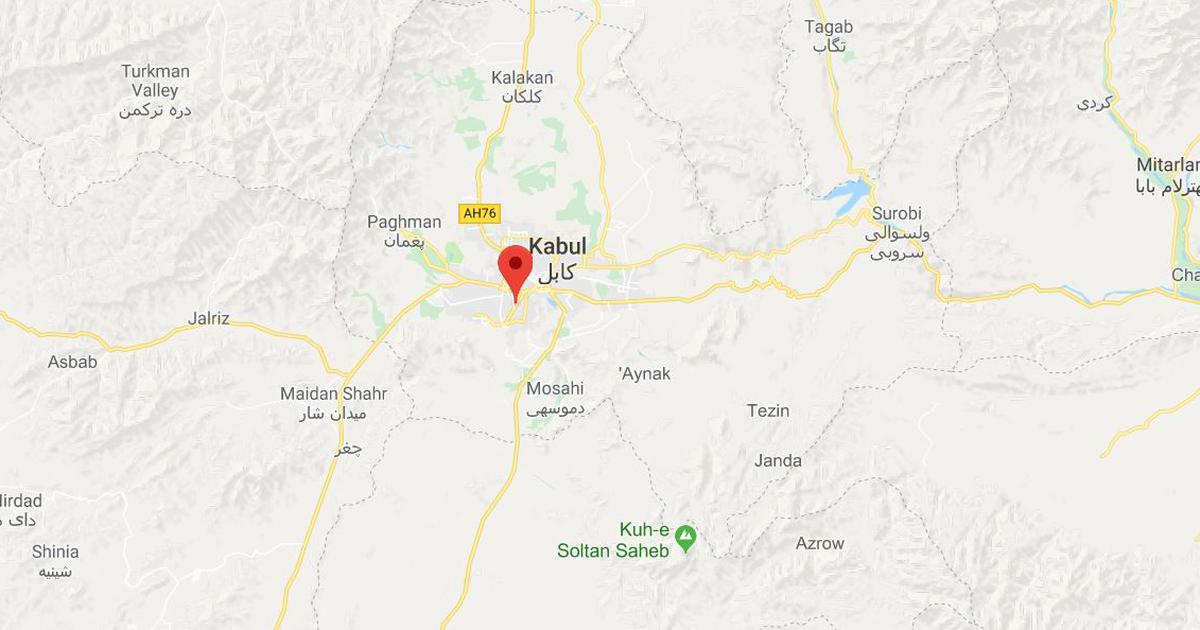 Afghanistan: At least 12 killed in explosion outside rural ministry office in Kabul