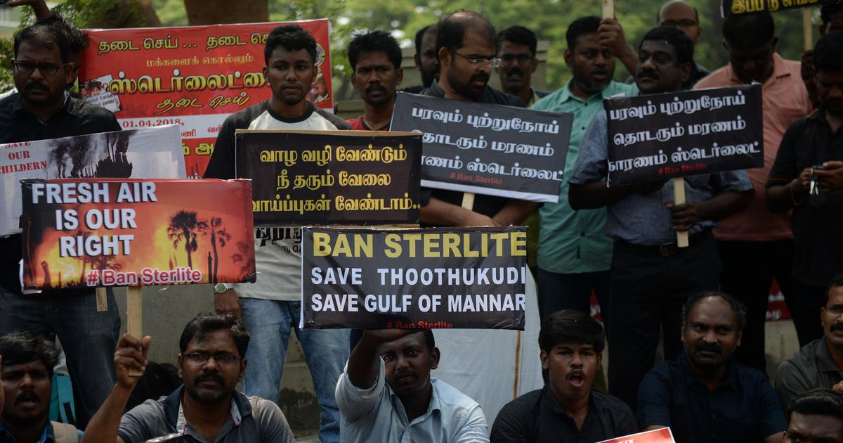 Tamil Nadu: Six arrested for violence during anti-Sterlite stir booked under National Security Act