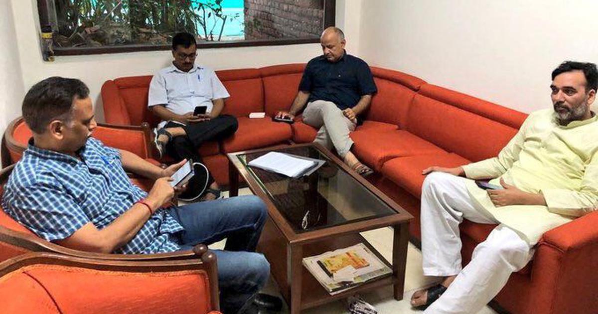 Arvind Kejriwal urges Delhi LG to ask IAS officers to resume work