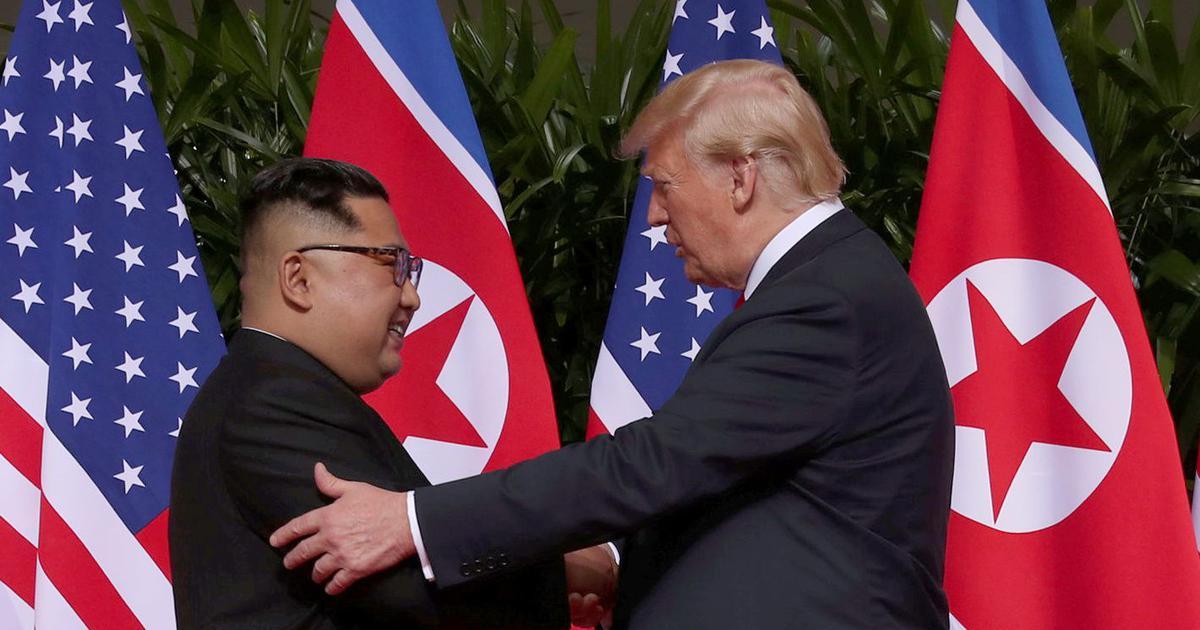 Kim Jong-un meets Donald Trump, commits to 'complete denuclearisation' of Korean Peninsula