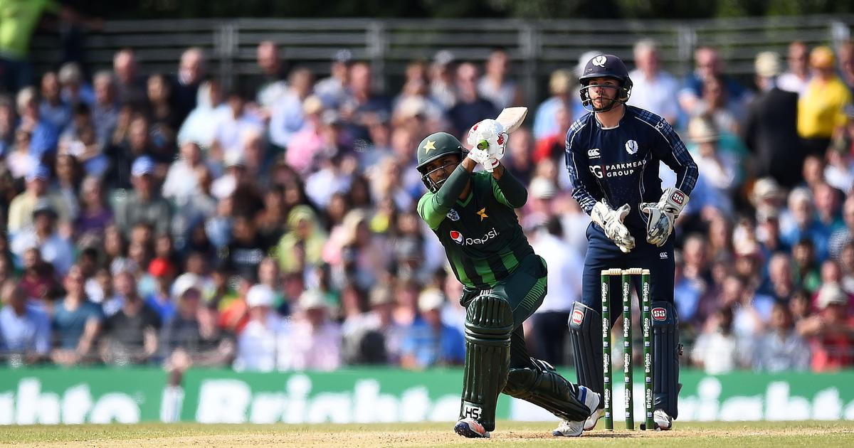 Pakistan deny Scotland another giant-killing act, win first T20I by 48 runs