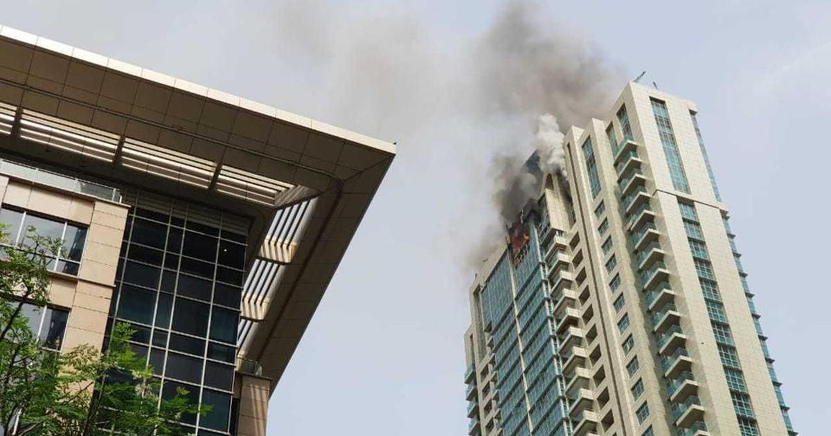 Mumbai: Fire breaks out in Prabhadevi high-rise, no casualties reported yet