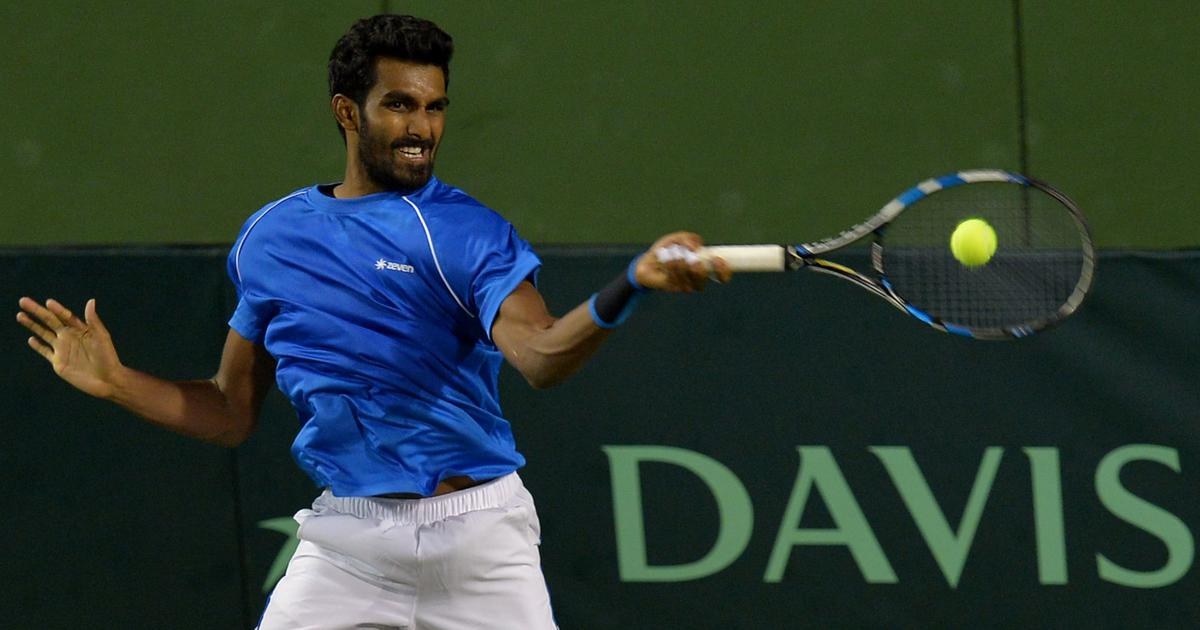 Indian tennis: Prajnesh misses out on a Federer match-up after 2nd round defeat in Stuttgart