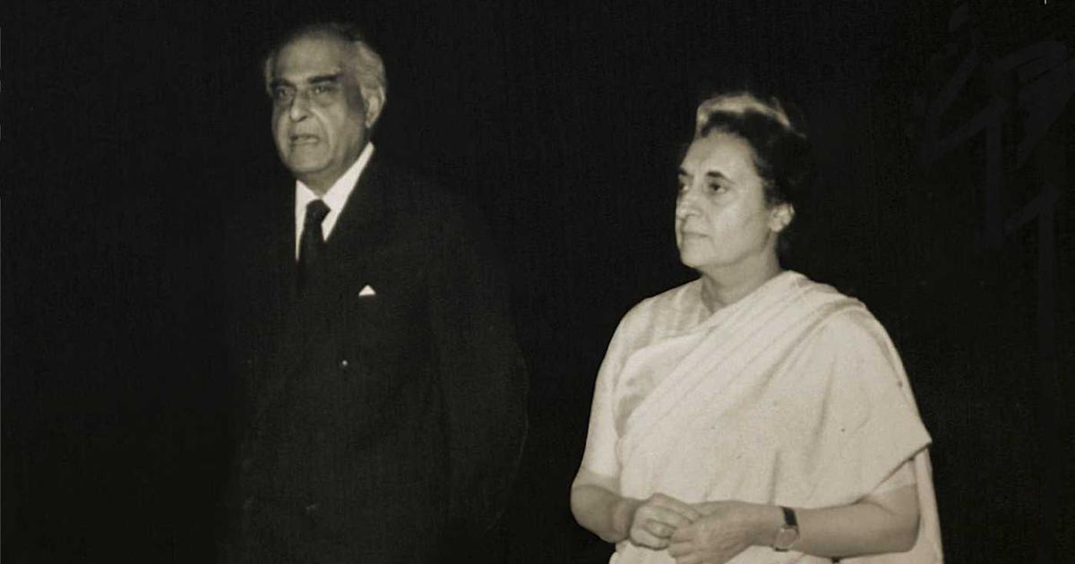 Indira Gandhi's conscience keeper? 'I could not become a 'keeper' of something which did not exist'