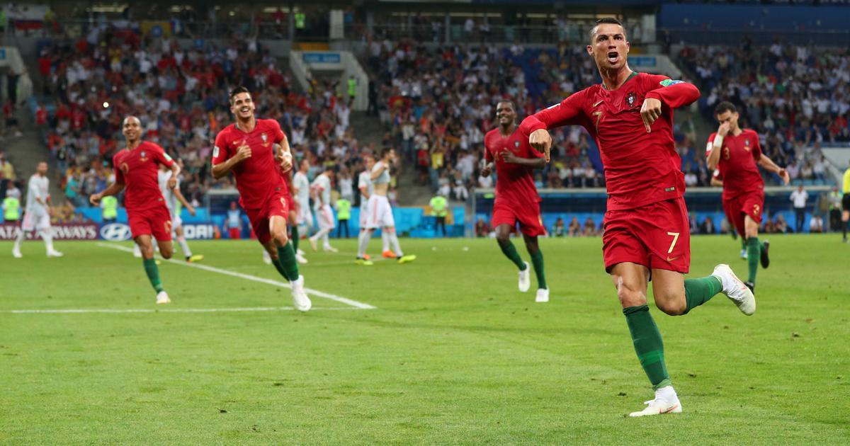 Russia 2018: Cristiano Ronaldo's hat-trick helps Portugal