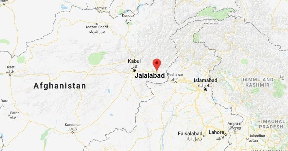Afghanistan: At least 15 killed in suicide bombing in Jalalabad, 45 injured