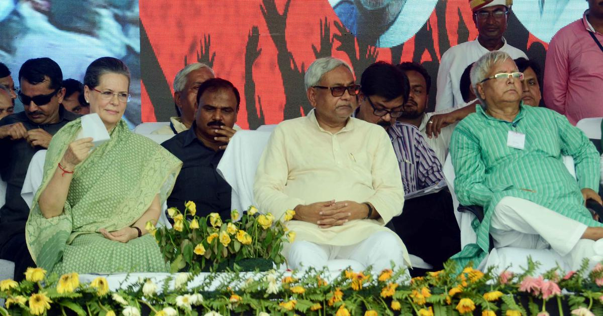 Grand Alliance can be revived if Nitish Kumar leaves NDA, says Congress
