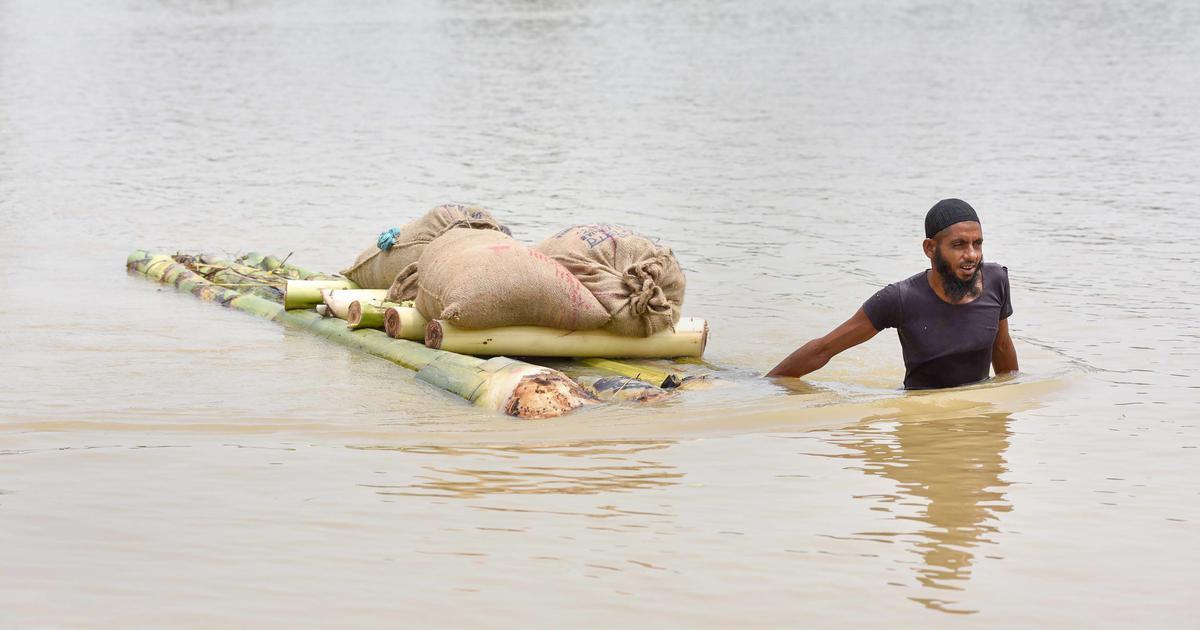 North East floods: Toll rises to 23, situation improves in Manipur and Tripura