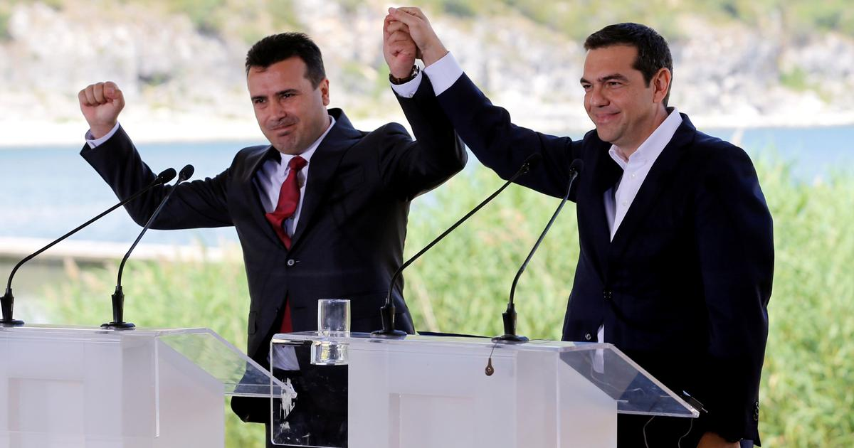 Greece, Macedonia sign accord to end 27-year-old name dispute