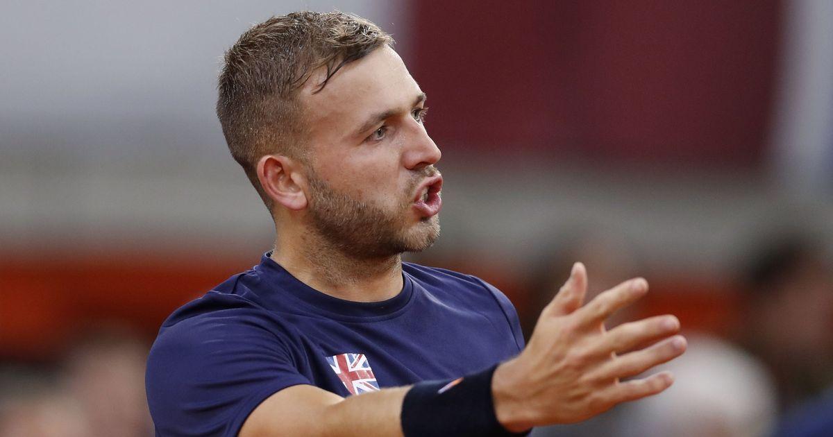 British tennis player Dan Evans denied first title since return from drugs ban