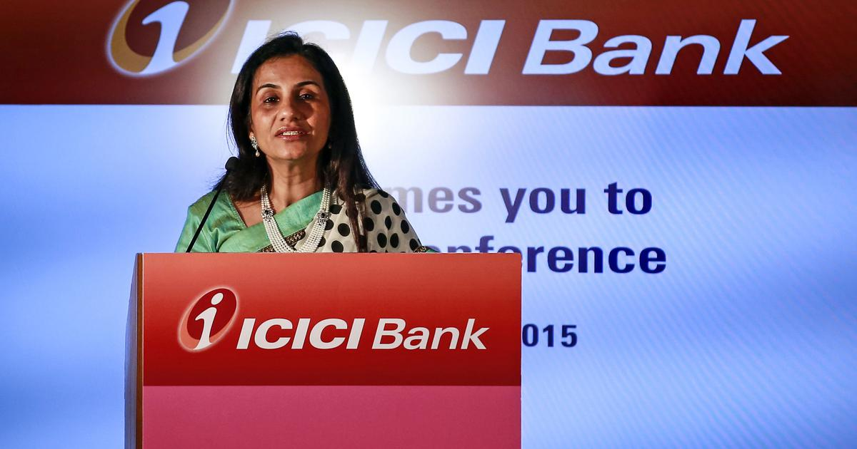 ICICI Bank shares jump by over 4% after report says its CEO Chanda Kochhar may be replaced