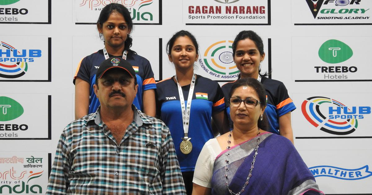 Mehuli Ghosh continues rich form to bag two gold medals at KSS Shooting Championship