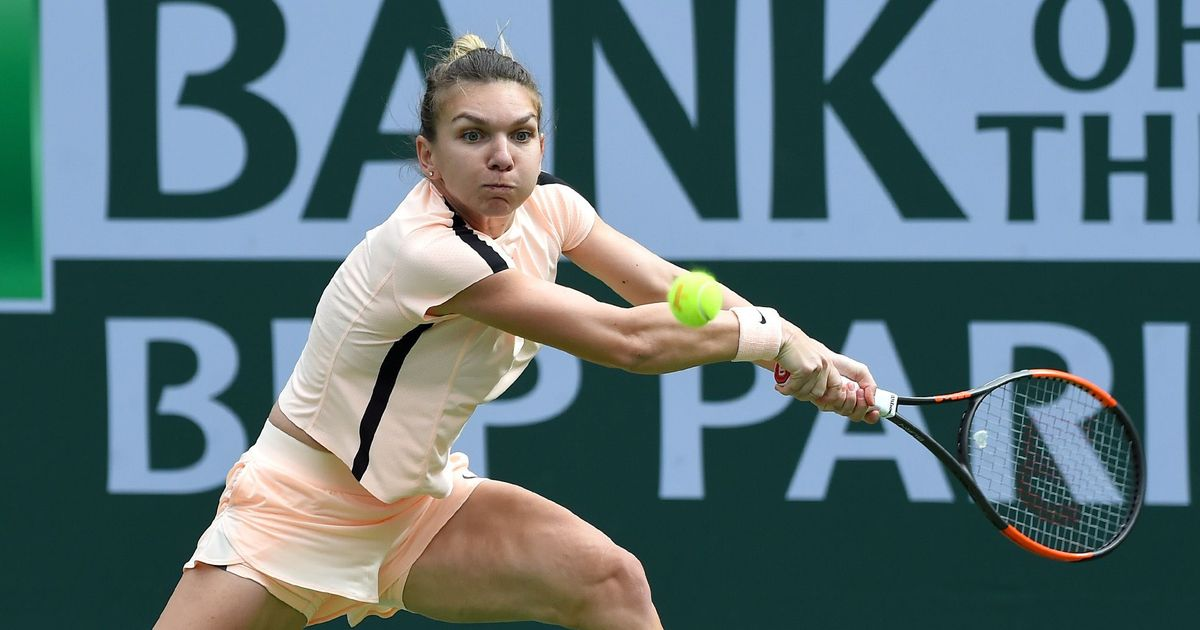 Simona Halep pulls out of Wimbledon warm-up tournament at Eastbourne with Achilles injury