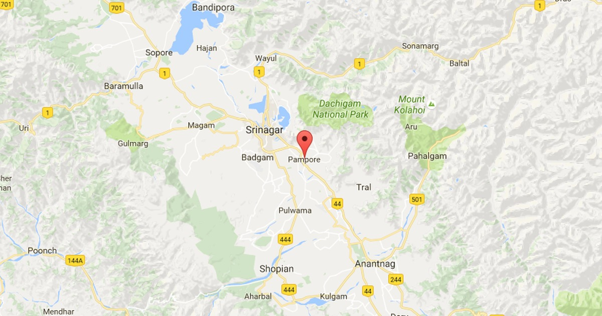Jammu and Kashmir: One police officer killed, two injured in suspected militant attack in Pampore