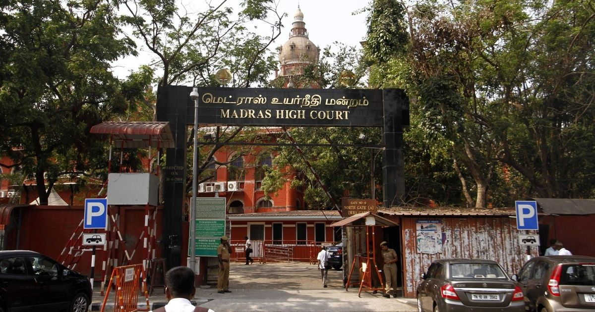 Chief justice abuse case: Madras High Court should not expect police to act  where it has failed