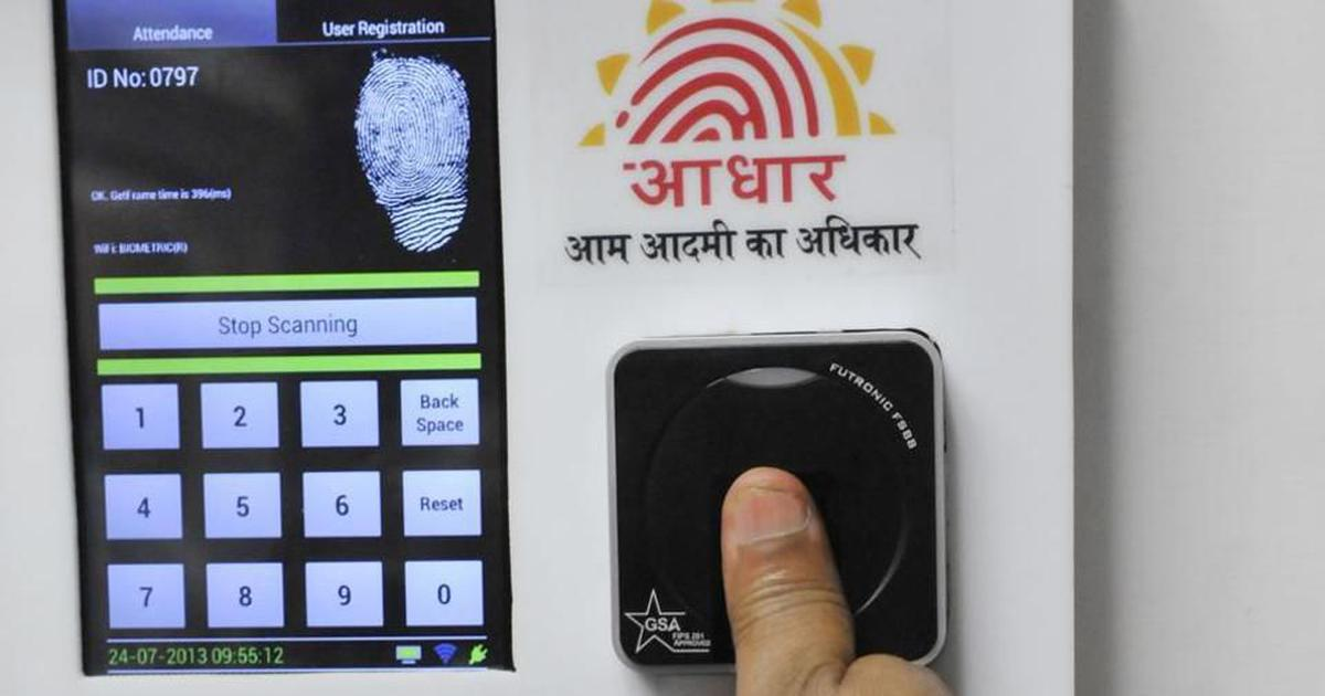 Aadhaar law does not allow use of biometric data for crime investigation, says UIDAI