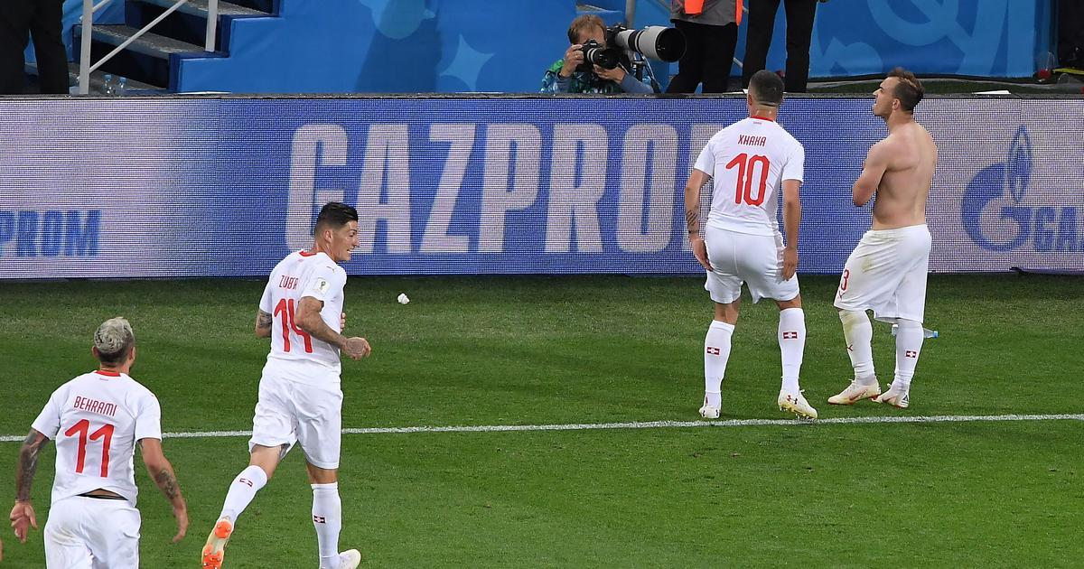 World Cup: Fifa opens disciplinary proceedings against Xhaka and Shaqiri for pro-Kosovo celebrations