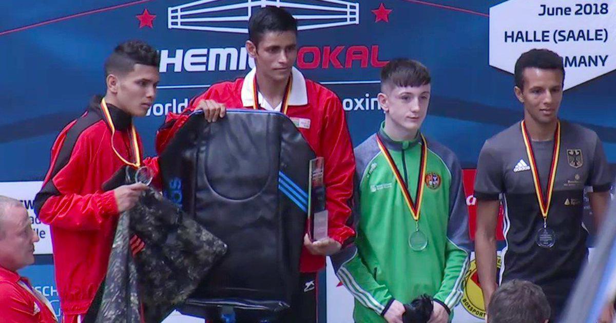 Solanki, Hussamuddin bag gold medals in prestigious Chemistry Cup boxing tourney