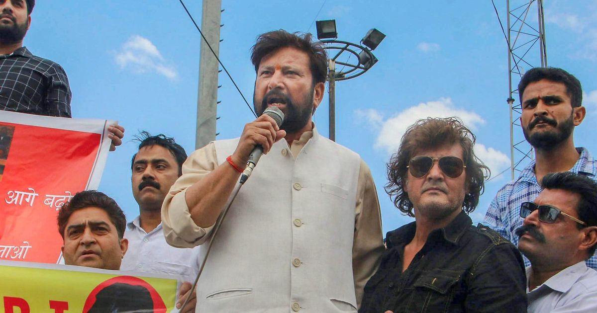 Media bodies demand strict action against BJP leader Choudhary Lal Singh