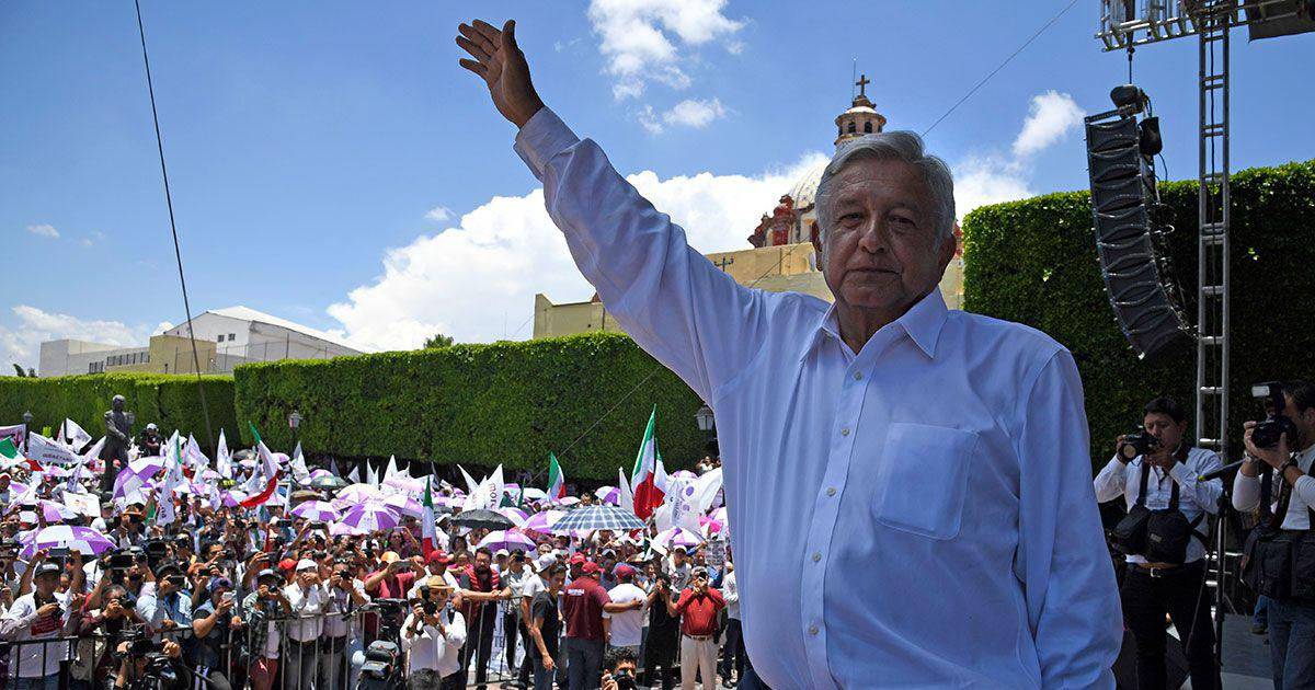 A Left-Wing presidential candidate looks set to win Mexico elections – but faces powerful opponents