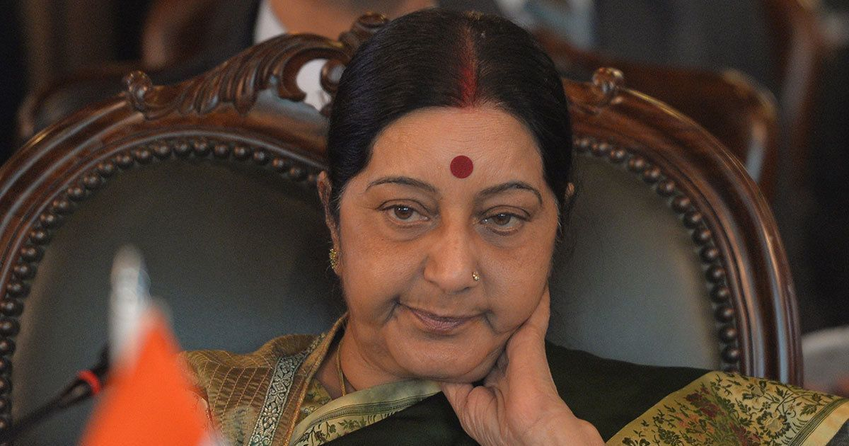 The social media assault on Sushma Swaraj is not mere trolling – it is moral collapse
