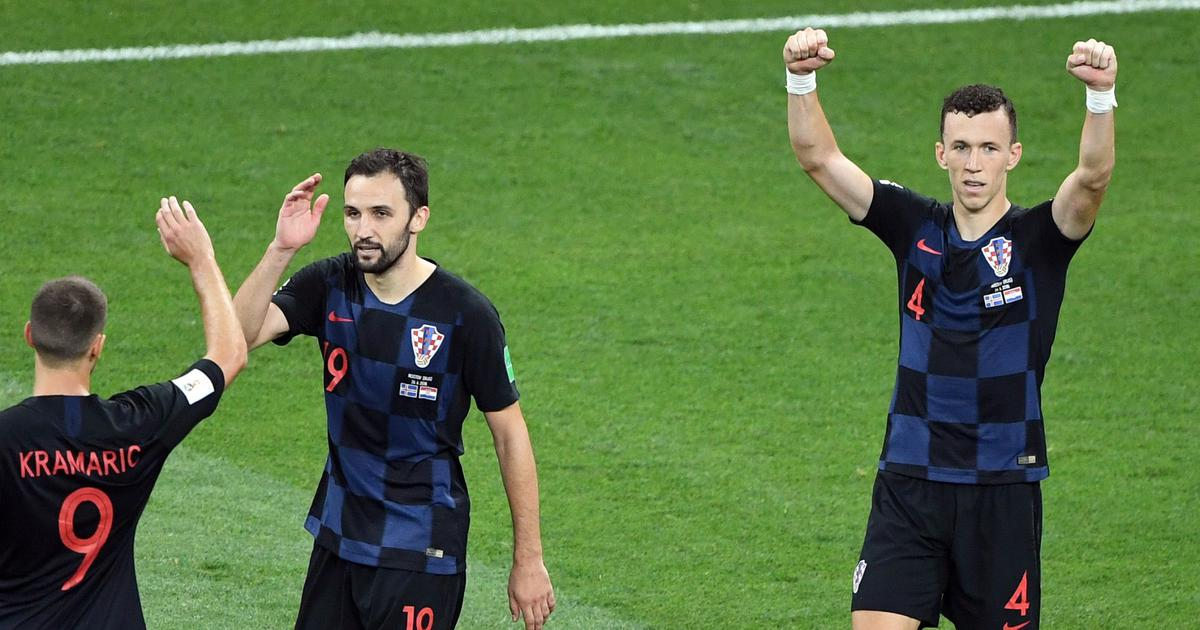 Fifa World Cup: Ivan Perisic's winner sends Croatia to top of table, Iceland crash out