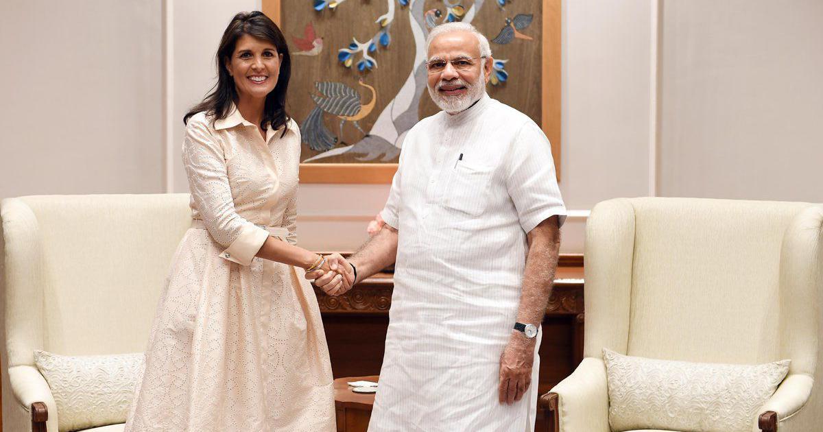 US envoy to UN Nikki Haley meets PM Modi, discusses cooperation in counter-terrorism measures