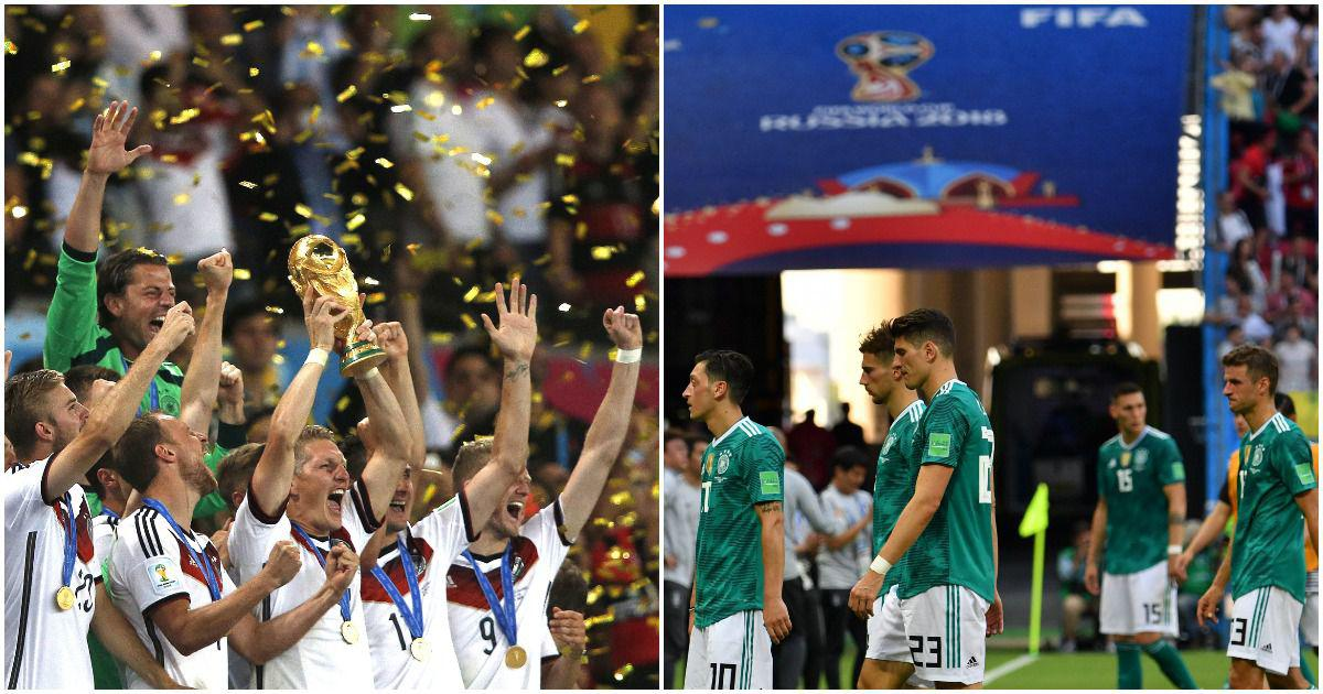 Germany and the curse of winning: Why have defending champions faltered so badly at the World Cup