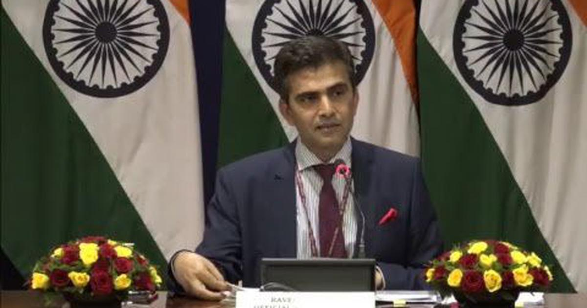 India will protect its energy security, MEA says days after US demands it halt Iran oil imports