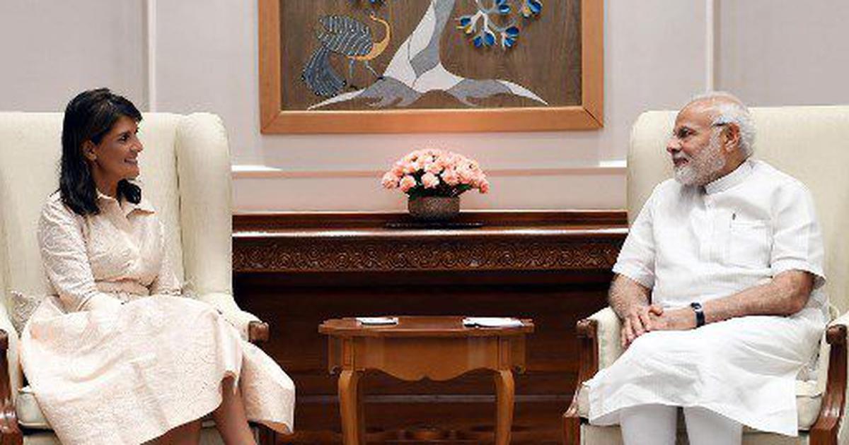 'PM Modi knows why United States postponed 2+2 dialogue,' claims ambassador Nikki Haley