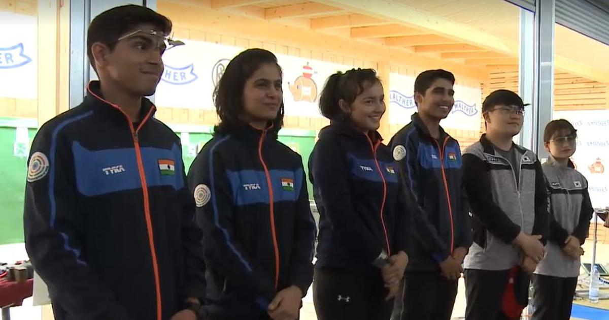 Shooting: With 8 medals on final day, India top medal tally at ISSF Junior World Cup