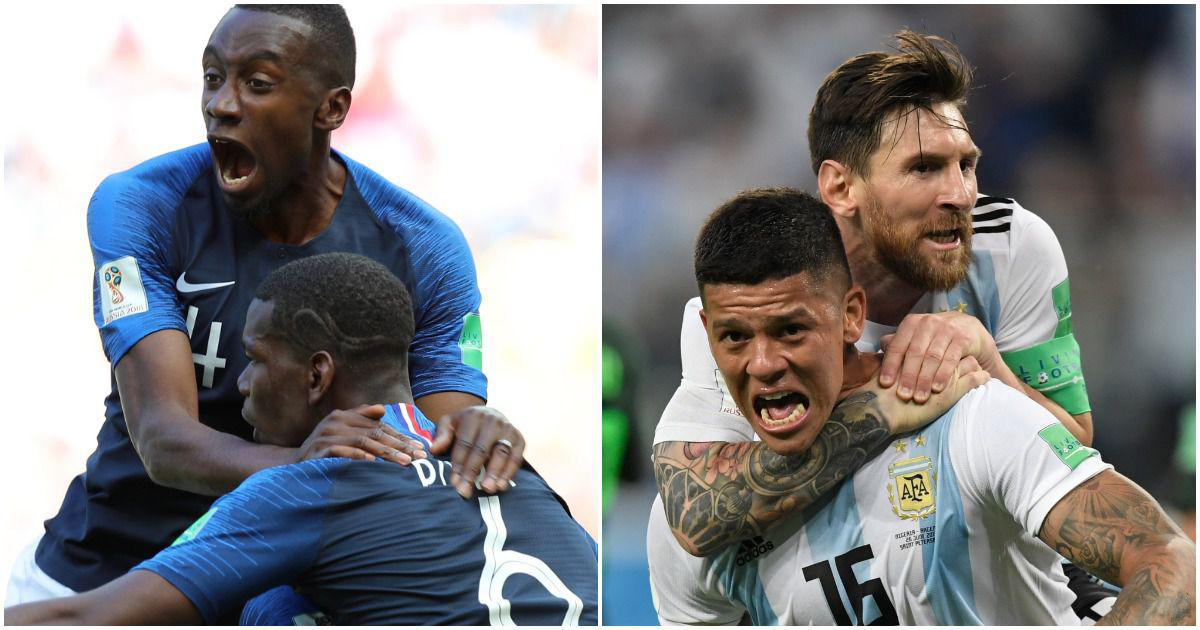 France vs Argentina, Uruguay vs Portugal: The Fifa World Cup round of 16 line-up