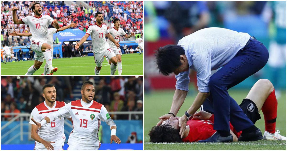 Thanks for all the entertainment: The World Cup group stage was lit up by the so-called small teams