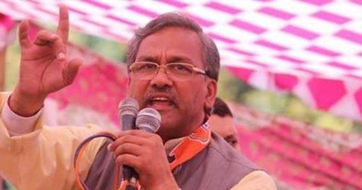 Uttarakhand CM asks police to arrest school principal after argument at a public meeting
