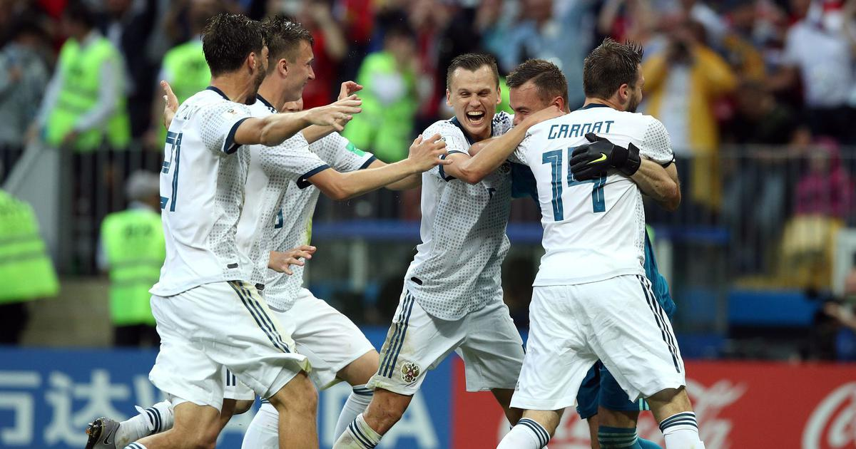 Limited, injured, unfancied but resolute: Tenacious Russia defy odds to beat dour Spain