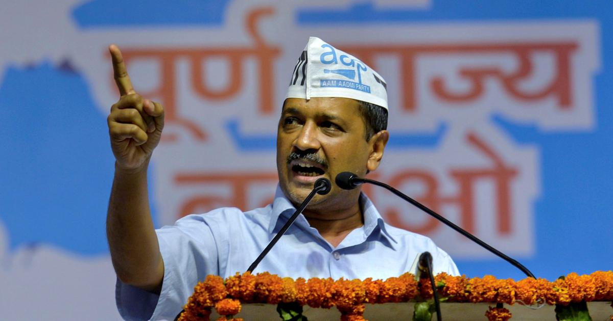 Delhi statehood: Arvind Kejriwal launches AAP's campaign, will submit 10 lakh letters to Modi