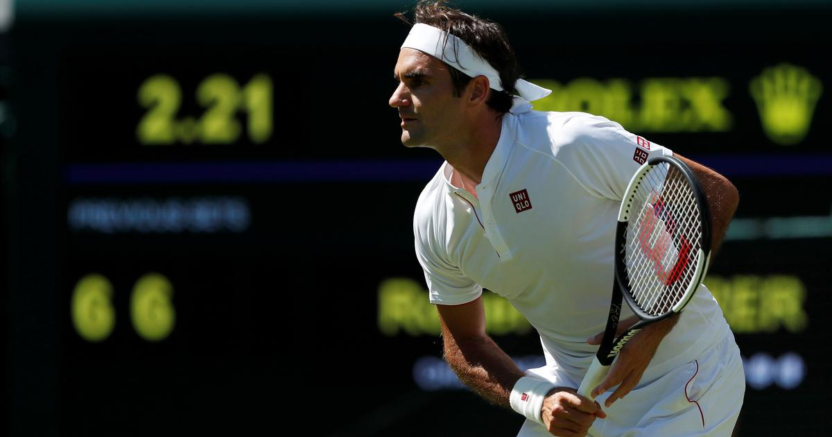 It's official: Roger Federer wears Uniqlo at Wimbledon as long-standing deal with Nike ends