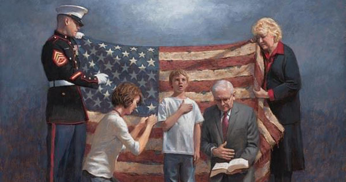 Jon McNaughton: The American Right-wing painter who uses allegory to portray modern conservatism