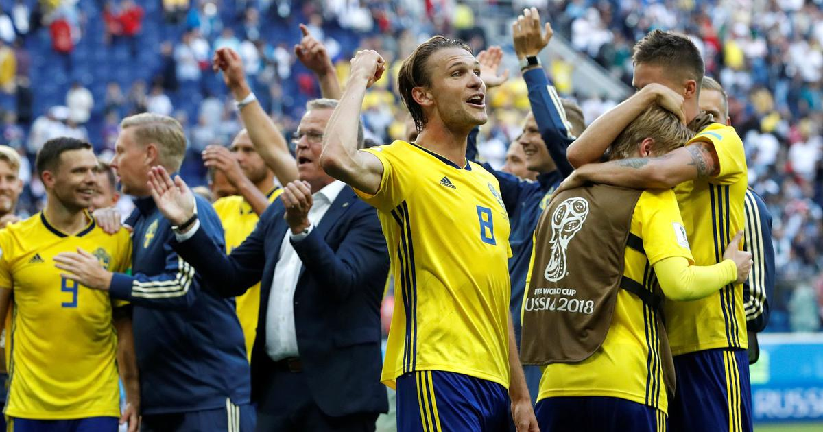 World Cup: Sweden edge past Switzerland to book quarter-final spot for first time in 24 years