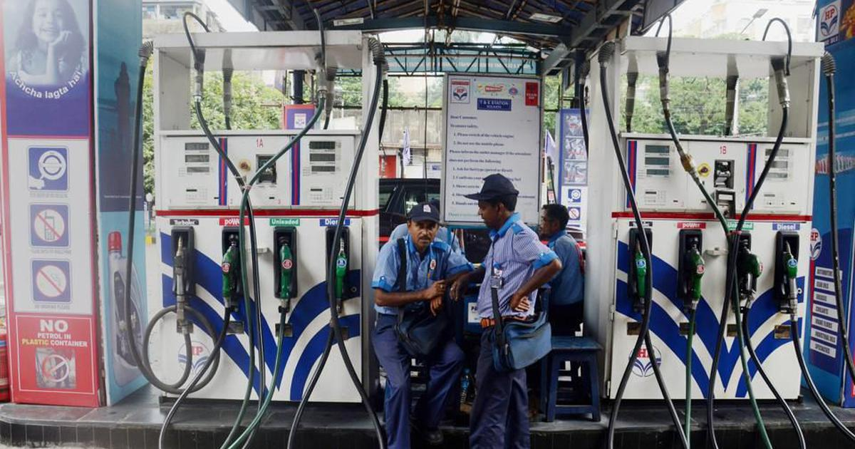 Petrol, diesel prices increased for the first time in 37 days