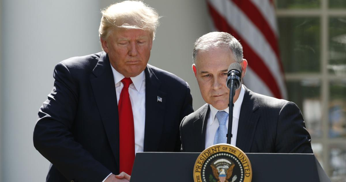 Scott Pruitt resigns as chief of United States Environmental Protection Agency