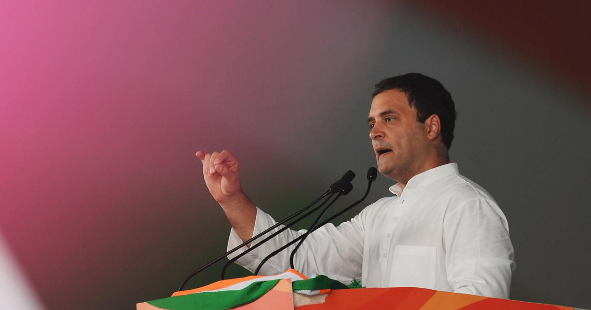 Rahul Gandhi says Centre's hike in minimum support prices is like a band-aid to massive haemorrhage