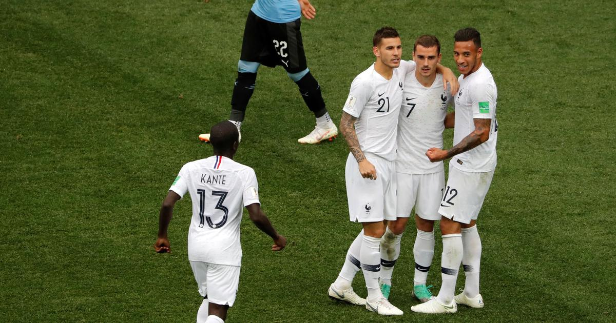 World Cup: Antoine Griezmann says he didn't celebrate goal against Uruguay out of respect