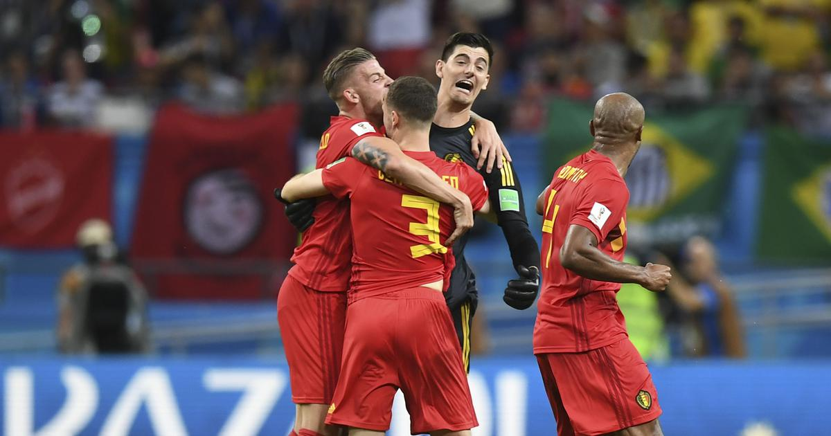 Fifa World Cup: Five-time champions Brazil knocked out as Belgium face France in semis