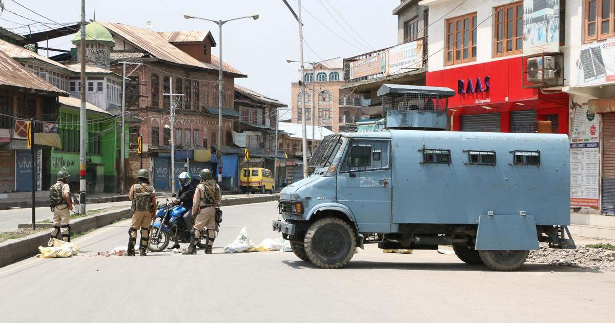 The big news: Curbs imposed in Kashmir on Burhan Wani's death anniversary, and 9 other top stories