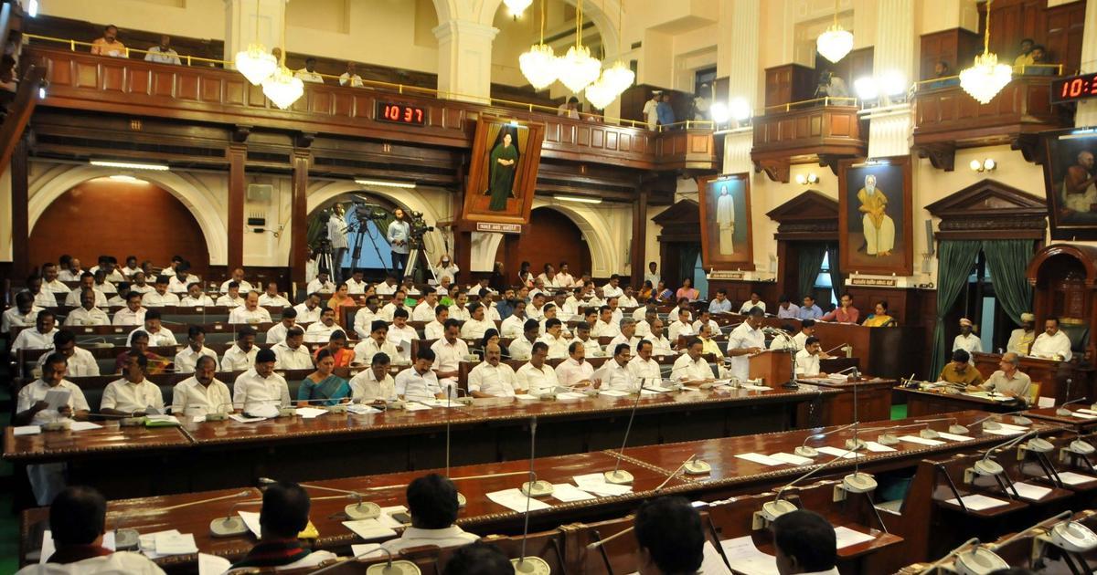 Tamil Nadu Assembly passes bill to set up Lokayukta