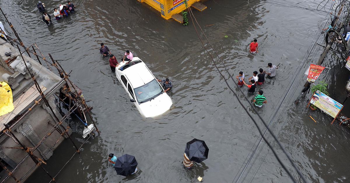 Tamil Nadu: December 2015 Chennai floods were a man-made disaster, says CAG